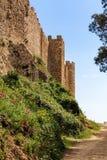 Castelo de Montsoriu, Catalonia fotos de stock royalty free