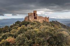 Castelo de Montsoriu, Catalonia fotos de stock