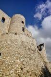 Castelo de Morano Calabro, parque nacional de Pollino, Itália Fotos de Stock Royalty Free