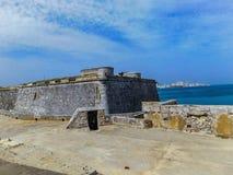 Castelo de moro em havana fotografia de stock royalty free