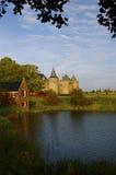 Castelo de Muiderslot Imagem de Stock Royalty Free