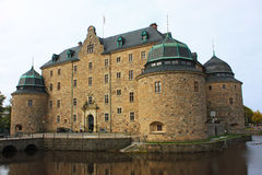 Castelo de Muiderslot Muiden, Holland Foto de Stock
