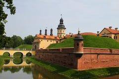 Castelo de Nesvizh belarus Fotografia de Stock