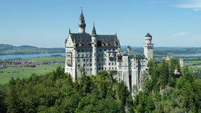 Castelo de Neuschwandstein Foto de Stock