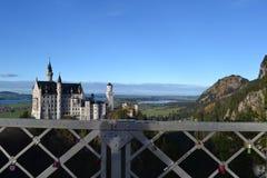 Castelo de Neuschwanstein Imagens de Stock