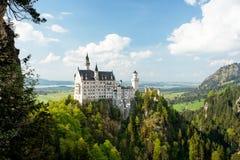 Castelo de Neuschwanstein, Alemanha Imagem de Stock Royalty Free