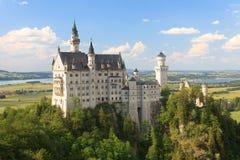 Castelo de Neuschwanstein, Alemanha Imagens de Stock