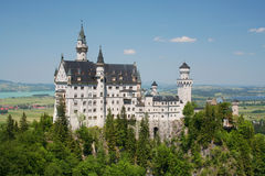 Castelo de Neuschwanstein em Alemanha Fotos de Stock Royalty Free