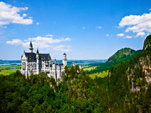 Castelo de Neuschwanstein em Baviera, Alemanha Imagem de Stock Royalty Free