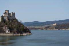 Castelo de Niedzica, Poland Foto de Stock Royalty Free
