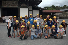 Castelo de Nijo, Kyoto, Japão Fotos de Stock