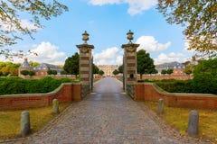 Castelo de Nordkirchen em Westphalia, Alemanha fotos de stock royalty free