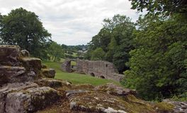 Castelo de Norham Foto de Stock