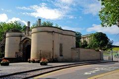 Castelo de Nottingham fotografia de stock