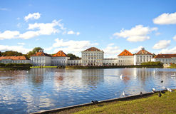 Castelo de Nymphenburg perto de Munich Imagem de Stock Royalty Free