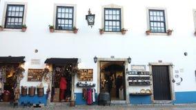 Castelo de Obidos Imagens de Stock Royalty Free