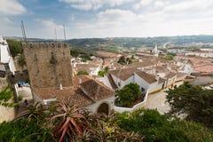 Castelo de Obidos Foto de Stock Royalty Free