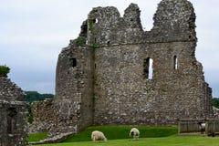 Castelo de Ogmore Foto de Stock