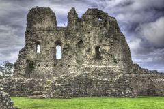 Castelo de Ogmore, Wales Fotografia de Stock Royalty Free