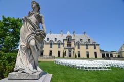 Castelo de Oheka em Huntington, New York Fotografia de Stock