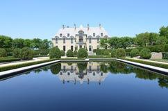 Castelo de Oheka em Huntington, New York Fotografia de Stock Royalty Free