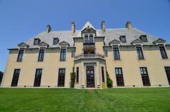 Castelo de Oheka em Huntington, New York Imagens de Stock