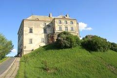 Castelo de Olesko em Lviv Oblast, Ucrânia Fotografia de Stock Royalty Free