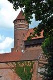 Castelo de Olsztyn Fotos de Stock