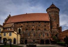 Castelo de Ordensburg em Olsztyn, Polônia Fotos de Stock