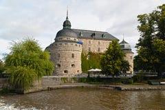 Castelo de Orebro. Imagem de Stock