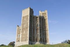 Castelo de Orford em Inglaterra Fotografia de Stock