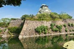 Castelo de Osaka Fotografia de Stock