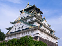 Castelo de Osaka Fotos de Stock Royalty Free