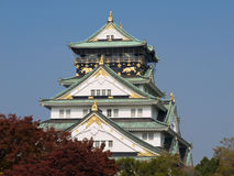 Castelo de Osaka Imagem de Stock