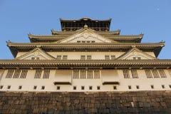 Castelo de Osaka em Japão Fotografia de Stock