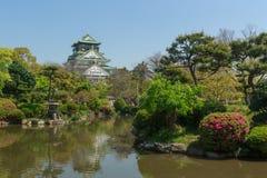 Castelo de Osaka, Japão Fotos de Stock