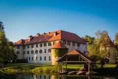 Castelo de Otocec Foto de Stock Royalty Free