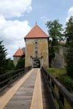 Castelo de Ozalj, Croácia imagem de stock royalty free