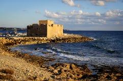 Castelo de Pafos Foto de Stock Royalty Free