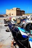 Castelo de Paphos Fotos de Stock
