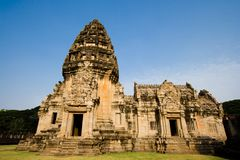 Castelo de pedra de Pimai Imagens de Stock