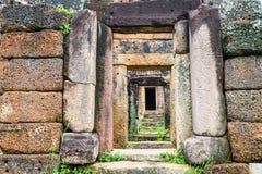 Castelo de pedra em Tailândia Fotos de Stock Royalty Free