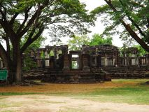 Castelo de pedra de Phimai, Tailândia Foto de Stock