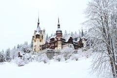 Castelo de Peles fotografia de stock royalty free