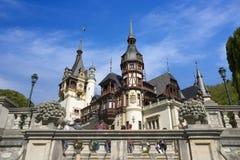 Castelo de Peles em Romania Imagens de Stock