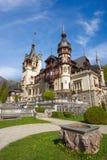 Castelo de Peles em Romania Imagem de Stock