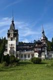 Castelo de Peles, Romania Foto de Stock Royalty Free