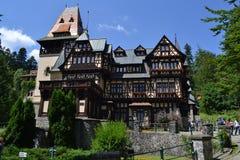 Castelo de Pelisor Fotografia de Stock Royalty Free