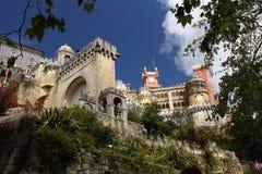 Castelo de Pena, uma vista de abaixo Fotografia de Stock Royalty Free