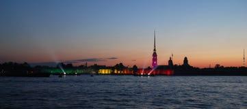 Castelo de Petropalovskay Imagens de Stock Royalty Free